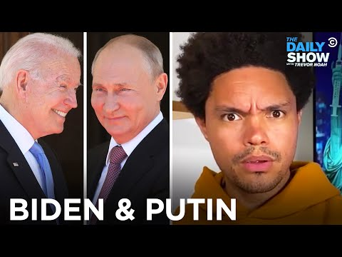 Biden's Grim Meeting with Putin   The Daily Show