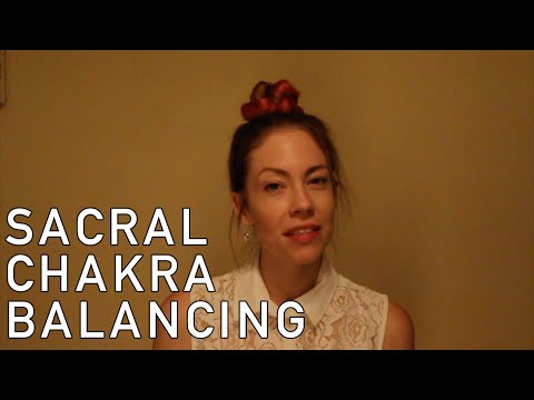 Sacral Chakra Balancing, Distance Reiki, Crystals, ASMR