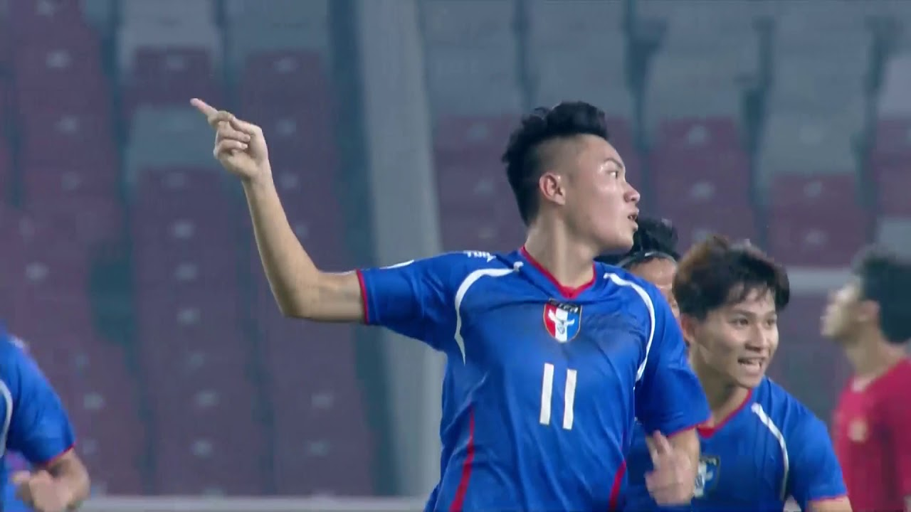 Video: U19 Indonesia vs U19 Đài Loan