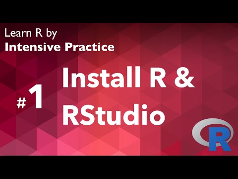 R Tutorial 01: Installing R and RStudio