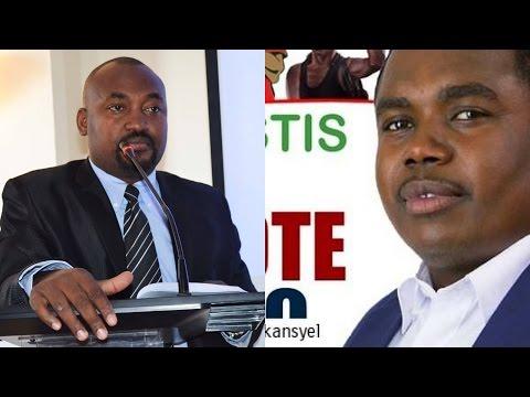 Élection présidentielle 2015 : Me André Michel VS Valéry Numa, duel médiatique sur Radio Vision 2000