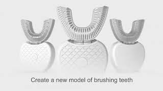 무선 전기 칫솔 자동 초음파 치아 브러시 360 나노 …