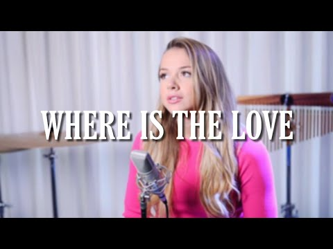 Emma Heesters - Where is The Love (Lyrics Video)