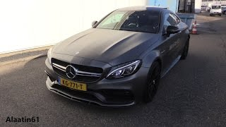 Mercedes-Benz AMG C63 S Coupe 2017 TEST DRIVE, In Depth Review Interior Exterior(Hello and Welcome to Alaatin61! YouTube's collection of automotive variety! In today's video, we'll take an up close and in depth look at the New 2017 Mercedes ..., 2016-11-01T11:30:07.000Z)