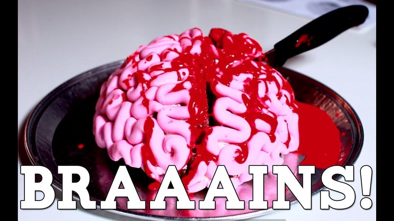 Brain Birthday Cake