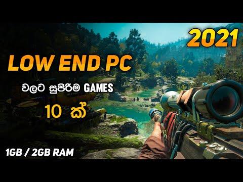 Top 10 Video Games For Low End Pc | 1Gb & 2Gb RAM | Sinhala thumbnail