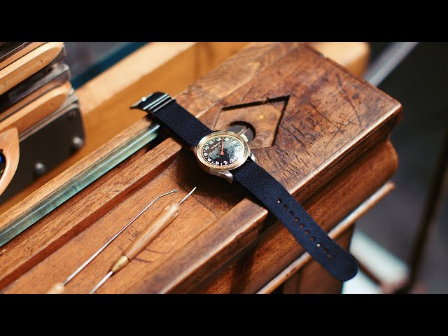 Robb Report Malaysia: Montblanc x Julien Faure – Nato Strap
