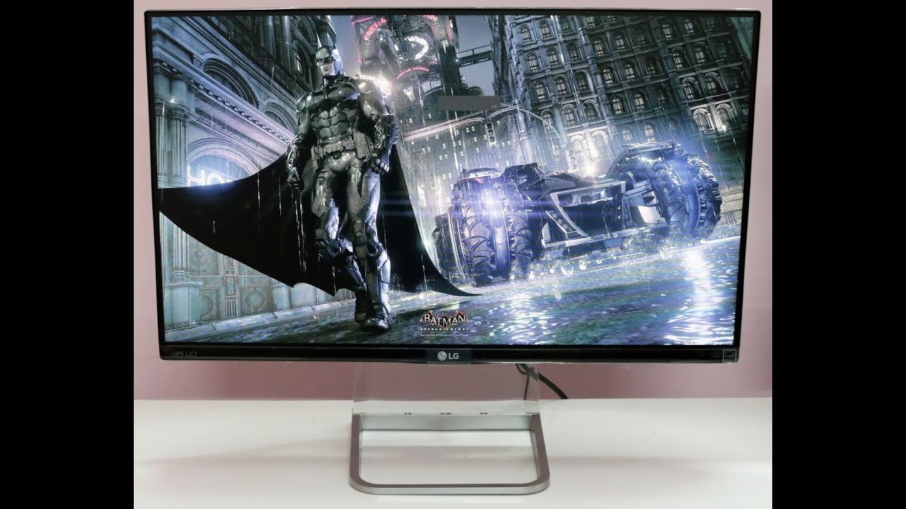 LG 34UC97 34 Curved LCD Monitor - YouTube