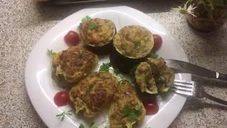 Фаршированные перцы и кабачки по-новому: мясо с картошкой и пряностями