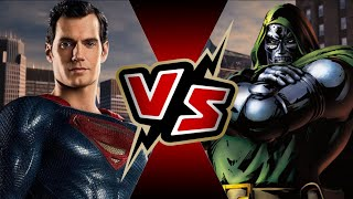 Superman VS Dr. Doom | BATTLE ARENA Video