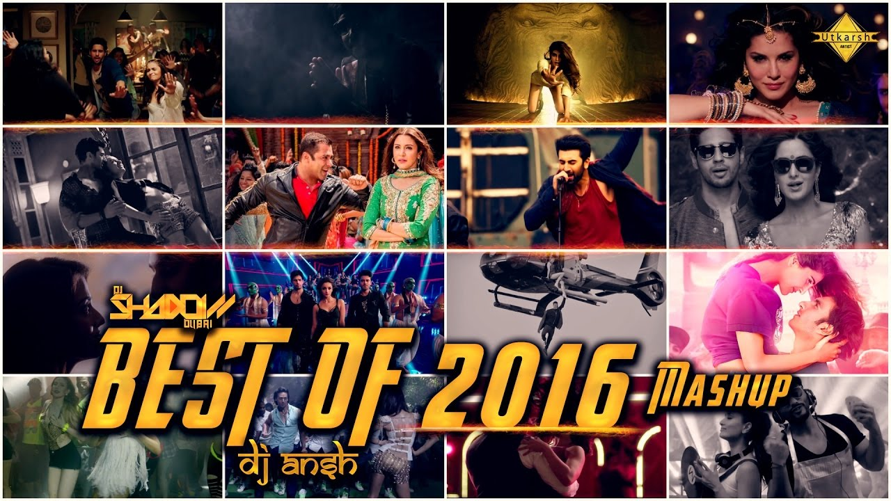 Best Of 2016 Mashup - DJ Shadow Dubai & DJ Ansh   DJ Hungama