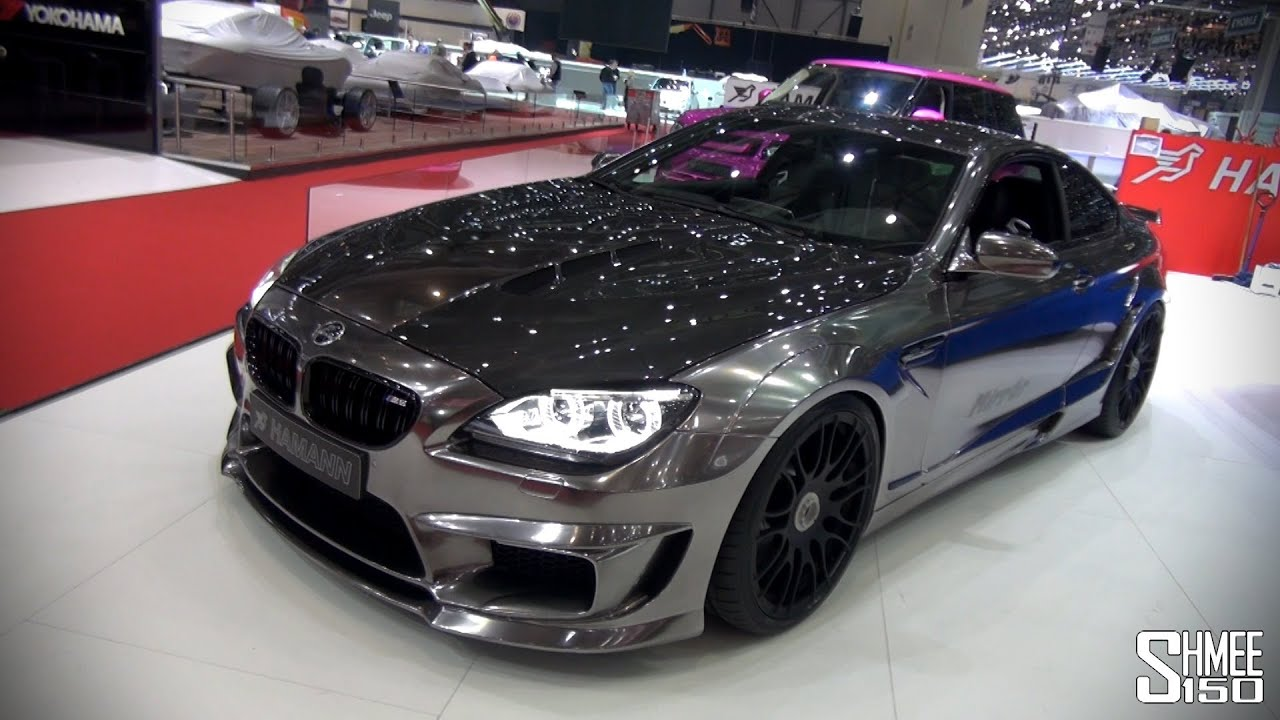 Exclusive Hamann Mirr6r M6 Chrome Geneva 2013 Youtube