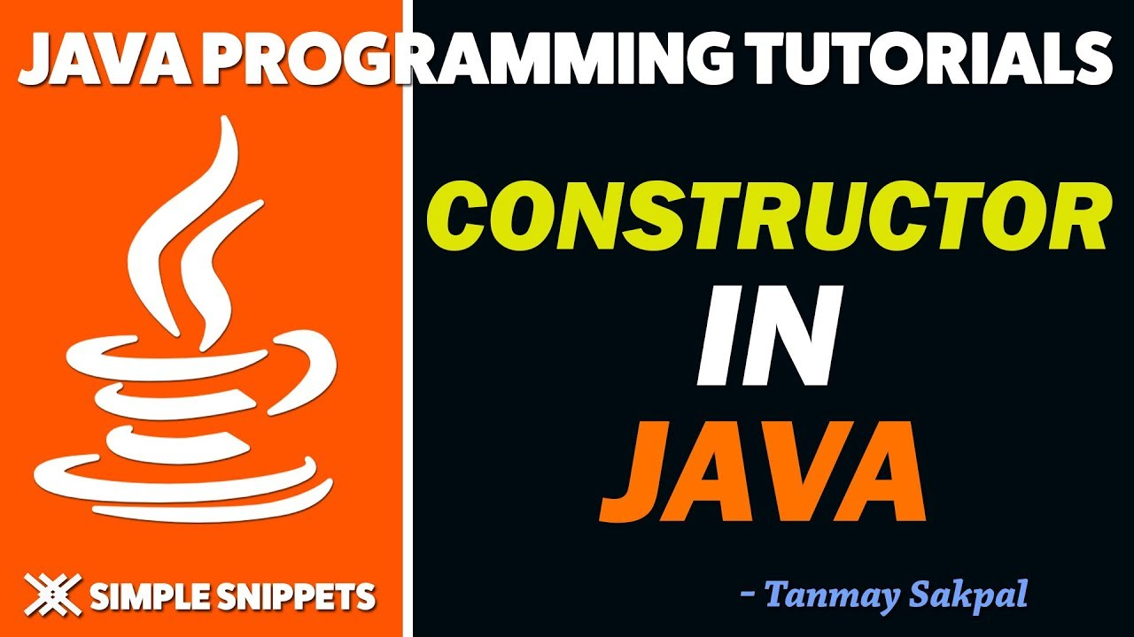 how to create default constructor java