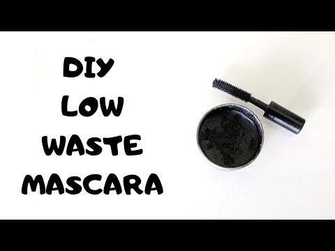 DIY Homemade Mascara Recipe/ Zero Waste/ Low Waste Mascara/ All Natural Ingredients