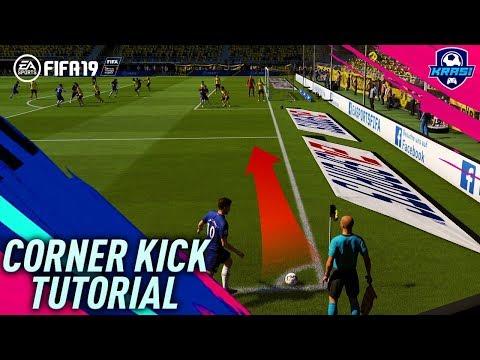 FIFA 19 CORNER KICK TUTORIAL - HOW TO SCORE EASY GOALS - MOST EFFECTIVE CORNER KICK in FIFA 19