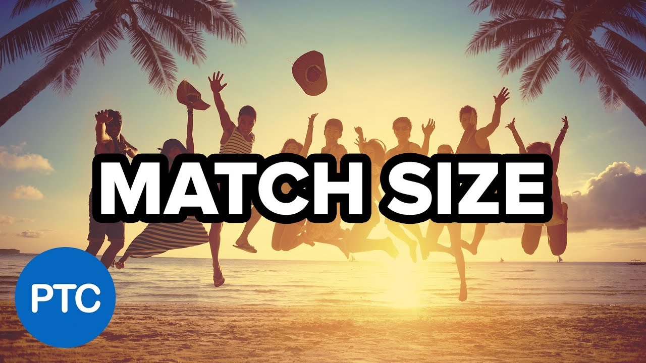 Match Image Size in Photoshop – Two Powerful Techniques That You (Probably) Don't Know