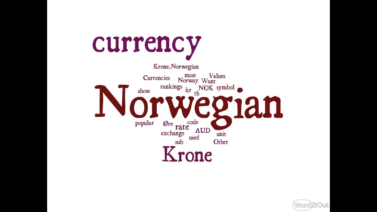 Norwegian Currency Krone Youtube