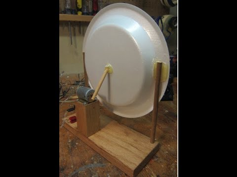 Homemade speaker made with a toy motor /// Homemade Science with Bruce Yeany