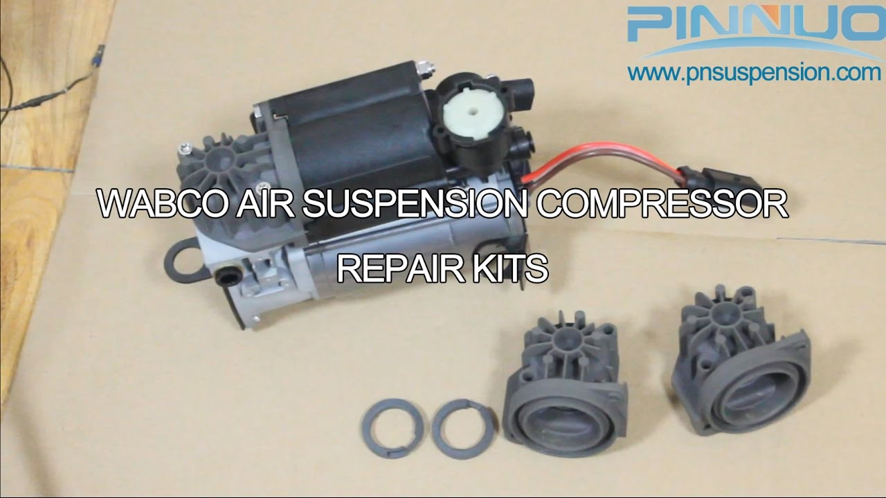 WABCO AIR SUSPENSION COMPRESSOR REPAIR KITS  YouTube