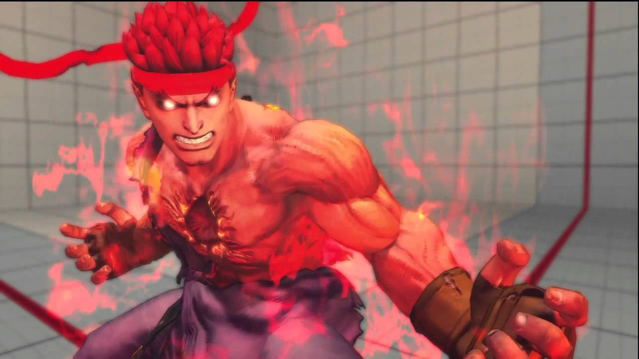Super Street Fighter 4 Arcade Edition Dlc Evil Ryu Gameplay Hd 720p