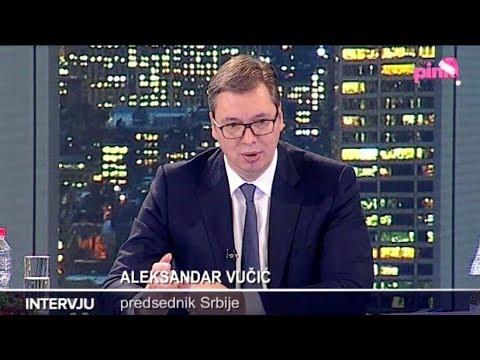 Aleksandar Vučić - Intervju za Pink - 25.12.2017.