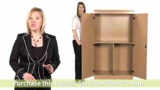 South Shore 2-Door Wooden Storage Cabinet - 7203970 at Stacks and Stacks
