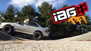 Boostedboiz/PFIspeed visit IAG performance /lifted Subaru RS