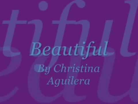 Christina Aguilera-Beautiful Lyrics