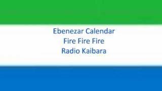 Fire Fire Fire - Ebenezar Calendar