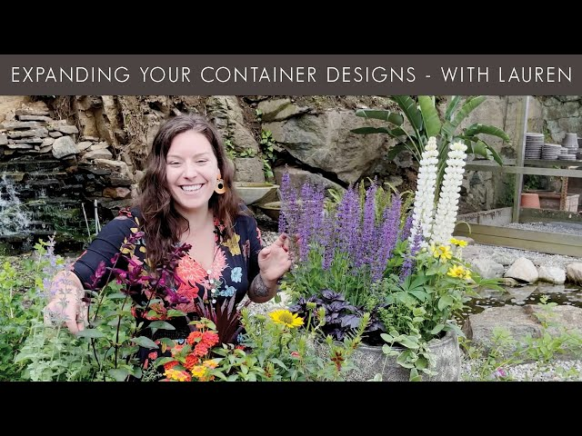 6/4/2021 Expanding Your Container Designs with Lauren