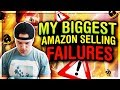 BIGGEST Amazon FBA Mistakes I Made & How To Avoid Them!