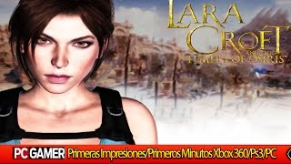 Lara Croft and the Temple of Osiris PC | Gameplay | Primeras impresiones | (PC/PS3/XBOX360)|