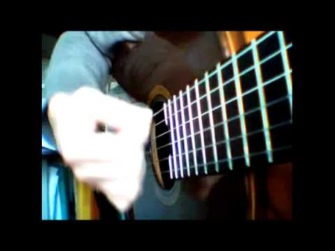 guitare acoustique rythme main droite