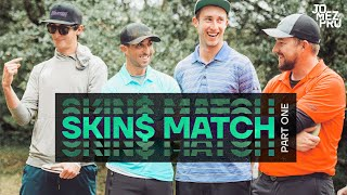 DISC GOLF SKINS MATCH | Part 1 | McBeth, Wysocki, Sexton, McMahon