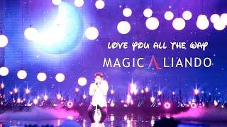 Aliando - Love You All The Way @ The Biggest Concert MagicAliando