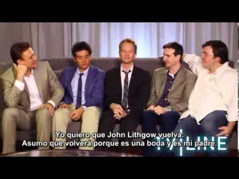 How I Met Your Mother - Comic-Con 2013 - Entrevista con TV LINE