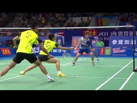 Finals - XD - T.Ahmad/纳西尔 vs Xu C./Ma J. - 2013国际羽联世界锦标赛