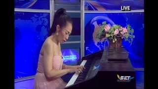 Bâng khuâng chiều nội trú- Vuong Huong (piano)