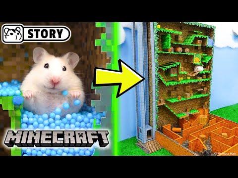 Hamster Vertical Maze - MINECRAFT WORLD  Come and Enjoy - Homura Ham
