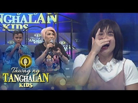 Tawag ng Tanghalan Kids: Vice gets distracted by Anne