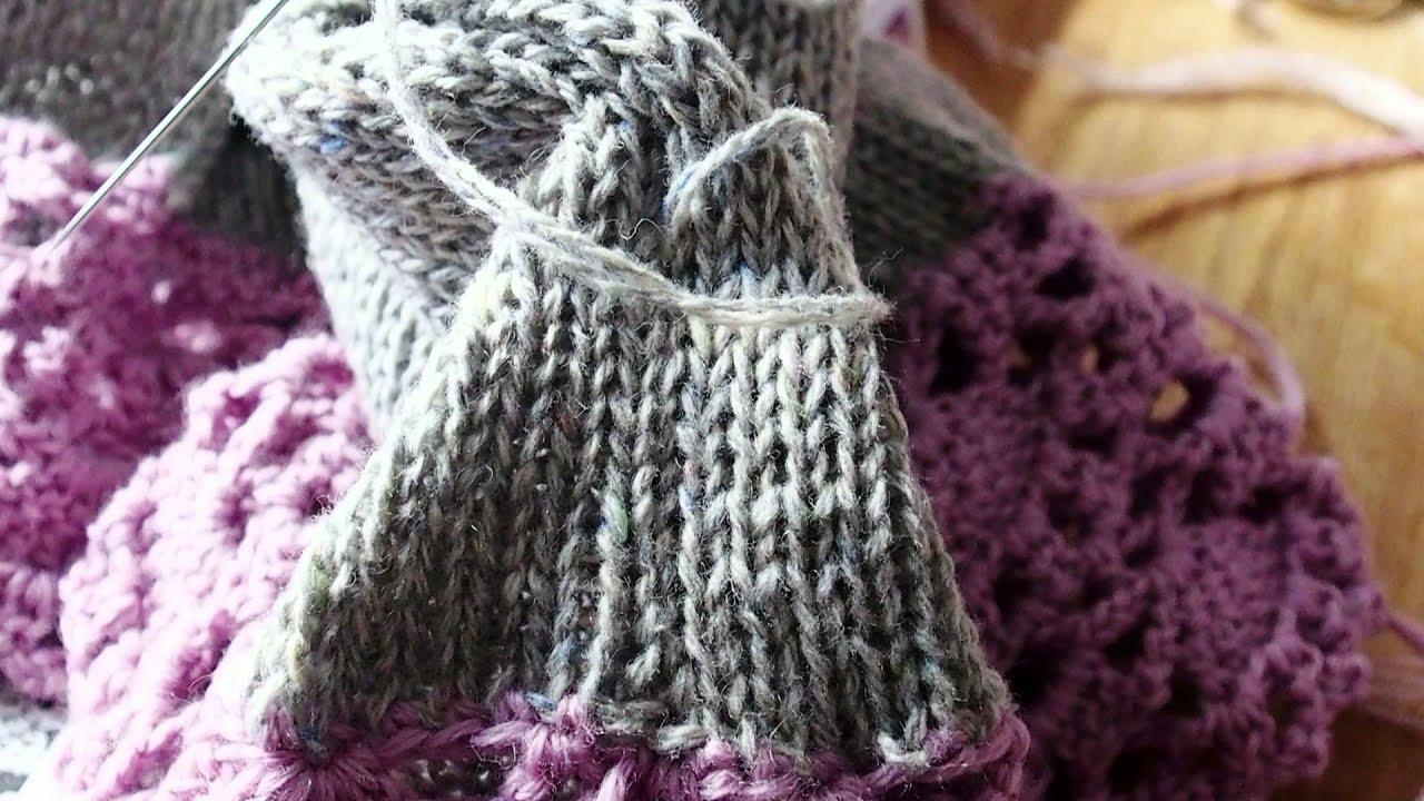 Mädchenpullover 6 Jahre häkeln und stricken - girl´s pullover - YouTube