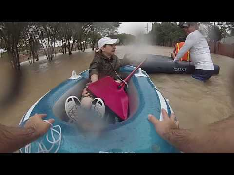 Rescuing Coromoto - Katy, Texas Harvey Floods