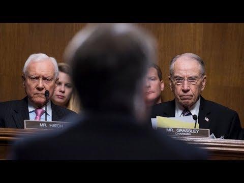 Rancorous Senate Cmte Pushes Kavanaugh Nomination, FBI Will Investigate Accusations