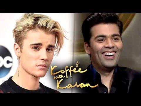 Justin Bieber INTERVIEW By Karan Johar For Koffee With Karan?