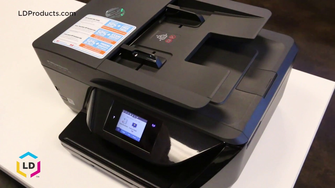 How To Replace Ink Cartridges In The Officejet 174 6954
