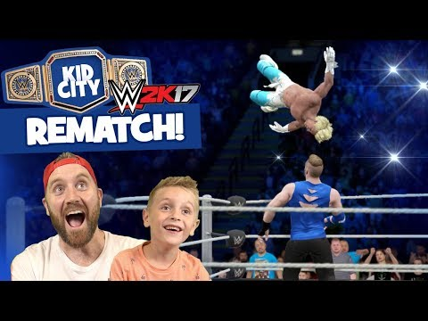 WWE 2k17 REMATCH: Lil' Flash vs DadCity Family Battle for the KIDCITY TITLE! thumbnail