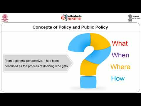 Public Policy Concept Nature and Scope