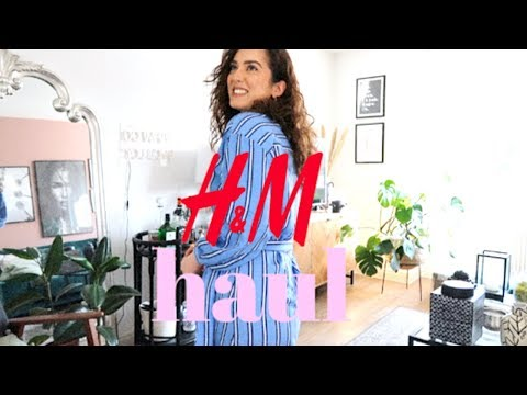 THE BEST AFFORDABLE SPRING DRESSES! H&M HAUL AND TRY-ON AD