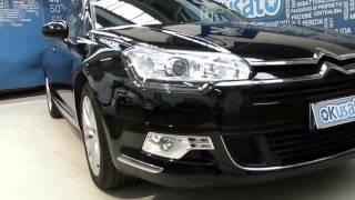 Citroen C5 Tourer station wagon 2.0 HDi 160cv Executive, cambio automatico - interni auto aziendali