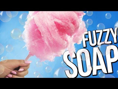COTTON CANDY SOAP ♥ DIY